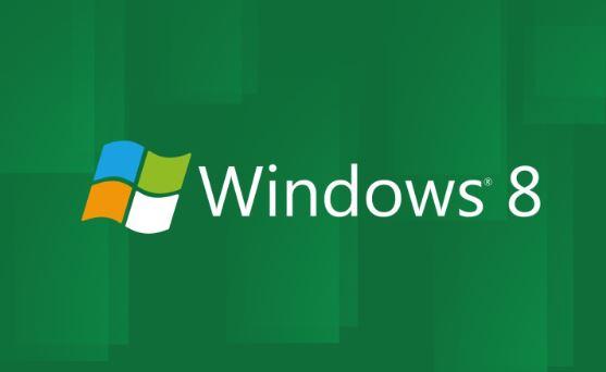 Windows 8绿色主题电脑桌面壁纸