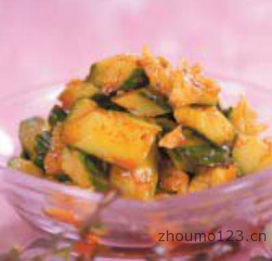 黄瓜的做法大全红油黄瓜