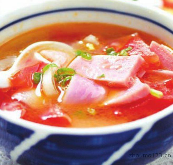 火腿洋葱汤的做法
