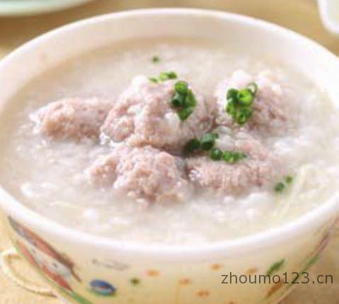 粥的做法肉丸粥