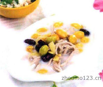 白果竹丝鸡(乌骨鸡)汤